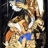 KOKOSCHKA, Oskar Amokläufer 1909 Auktionsergebnis: € 768.600 Weltrekordpreis für eine Graphik von Kokoschka