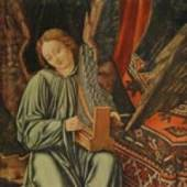 Mantegna Andrea 1431 - 1506   Musizierender Engel (Ausschnitt). Bildmaterial: reisserbilder.at