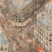 Gottfried Salzmann - Boulevard in Paris