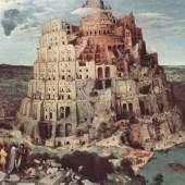 """Bruegel, Pieter  Turmbau zu Babel Renaissance  Das Gemälde """"Turmbau zu Babel"""" von Pieter Bruegel als hochwertiges, handgemaltes Gemälde. Wir malen Ihr Ölgemälde nach Ihrer Vorlage. Originalformat: 114 x 155 cm Entstanden: 1563, www.oel-bild.de"""