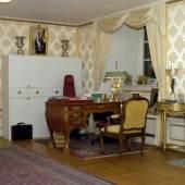 Arbeitszimmer von Königin Silvia im Königlichen Schloss in Stockholm (c) my-entdecker.de