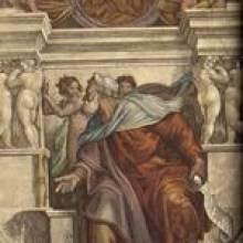 michelangelo buonarroti der prophet ezechiel sixtinische kapelle rom quelle michelangelo sibyllen und propheten - Michelangelo Lebenslauf