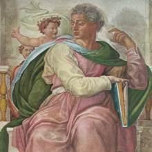 michelangelo buonarroti 1475 1564 der prophet jesaias deckenfresco in der sixtinischen kapelle in rom - Michelangelo Lebenslauf